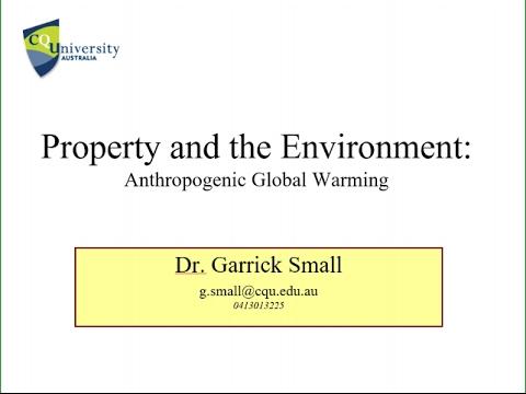 Advanced Valuation 12: The Precautionary Principle and Green Buildings