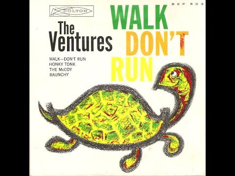 "The Ventures ""Walk Don't Run"" 1960 LP (Full Vinyl Video)"