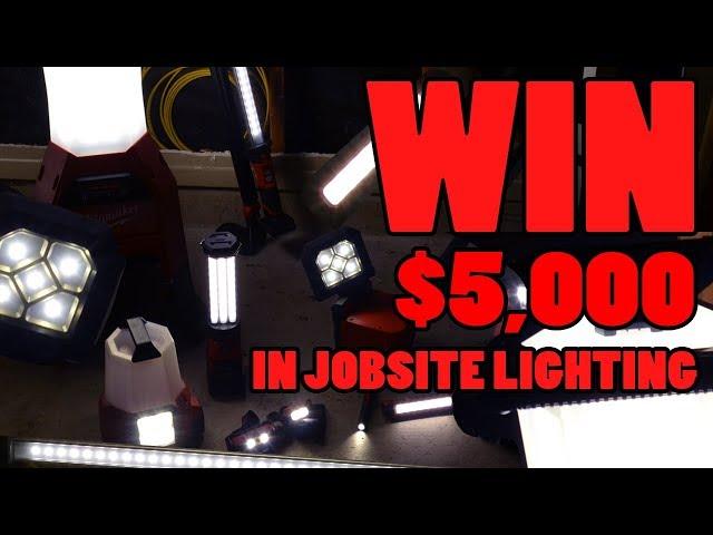 5K MILWAUKEE LIGHTING CONTEST GIVEAWAY