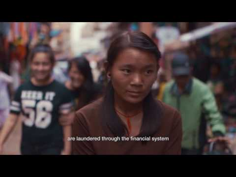 Human Trafficking and the financial system