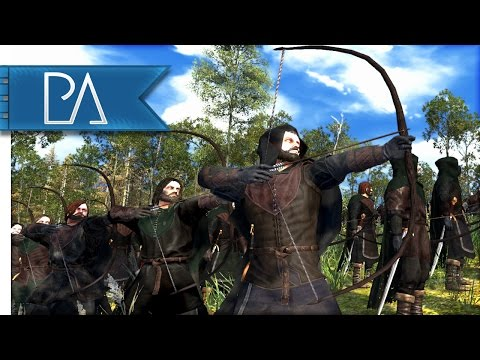 Guardians of Middle-Earth: Ithilien Rangers Ambush - Total War: Rise of Mordor Mod Gameplay