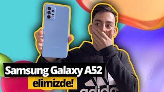 Samsung Galaxy A52 elimizde! İlk karşılaşmamızda ne yaşadık?