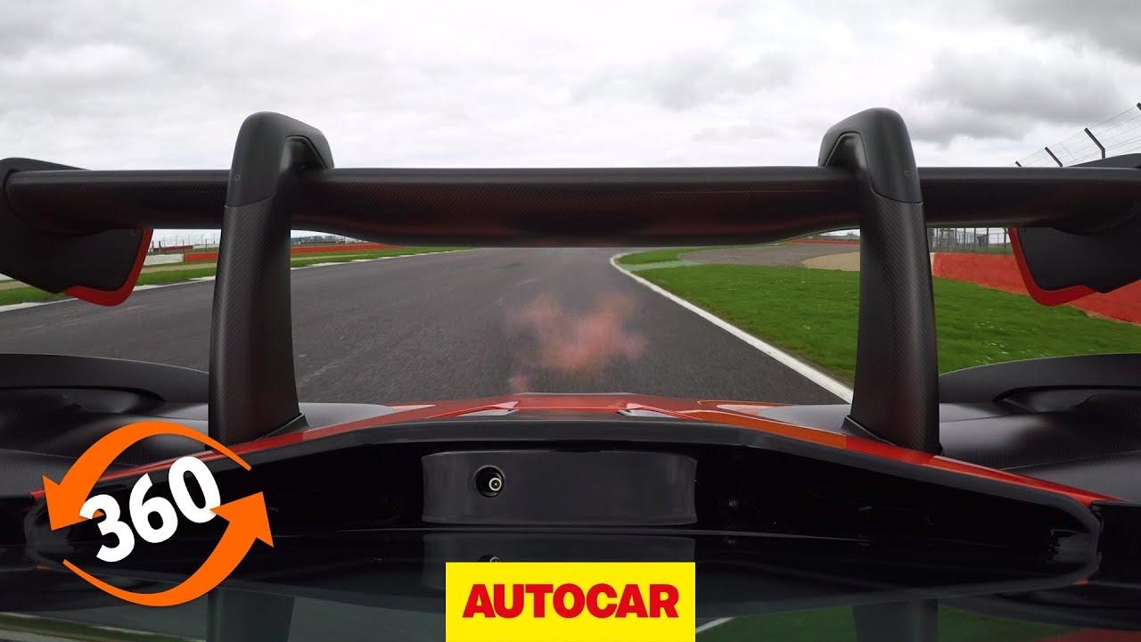 McLaren Senna 360 VR onboard at Silverstone   Autocar