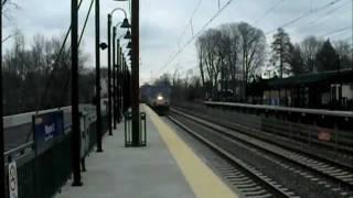 AMTRAK P42 #78 on Pennsylvanian Train #43 to Pittsburgh