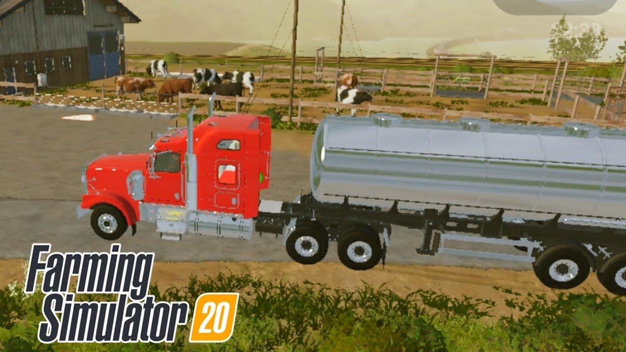 Fs20 farming simulator 20 / inek almak ve inek beslemek / buying and feeding cows / # 926 HD