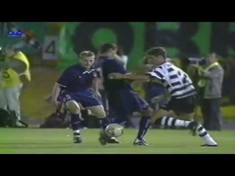 Cristiano Ronaldo Sporting Lisbon skills and goals
