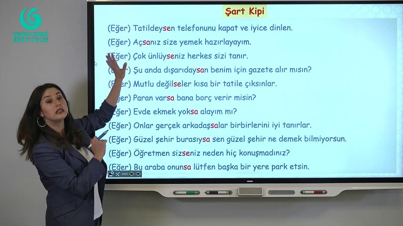 Download B1 - EĞER - Şart Kipi (-Sa/Se): 1