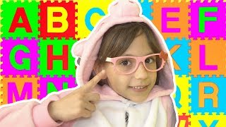 ABC Song | Katrin Pretend Play Learning Alphabet & Nursery Rhyme Song