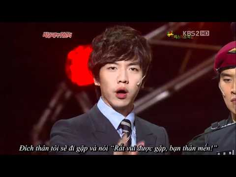 [Vietsub]Lee Seung Gi - Gag Concert 25.12.2011 cut