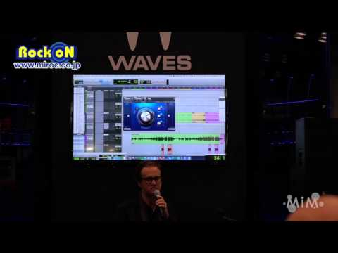 AES2015 : Waves Greg Wells Vocal Centric by Rock oN