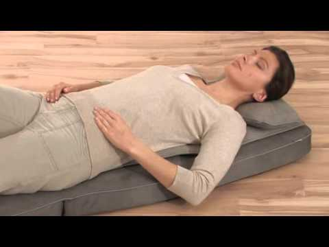 matelas de massage shiatsu mg 230 beurer english youtube. Black Bedroom Furniture Sets. Home Design Ideas