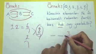 Permütasyon 1 Şenol Hoca Matematik