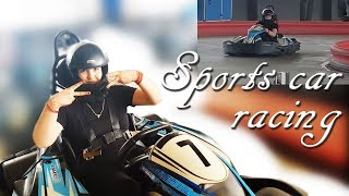 Sky Karting Gurgaon | Racing Cars India | Foreigner Driving in India