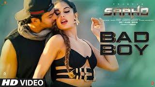 Bad Boy  Song   Saaho   Prabhas, Jacqueline Fernandez   Badshah, Neeti Mohan