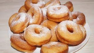 Просто Улетная Выпечка к Чаю- Пышные Пончики