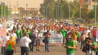 Pide Uabc Juicio Político Para Gobernador Kiko Vega, Marchan Más De 35 Mil