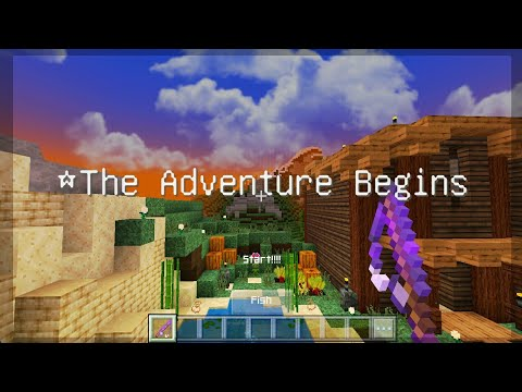 The Best Mc Bedrock Adventure Map 2019 Youtube