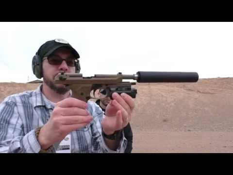 Beretta M9A3 Suppressed: SHOT Show 2015