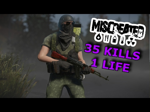 ☢Miscreated🔥 - EP 84. THE DARK KNIGHT TAKING OUT 35 PEOPLE IN 1 LIFE [60FPS]