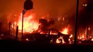 Bränderna i Kalifornien hotar fortfarande hem