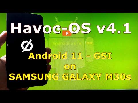 Havoc-OS v4.1 Android 11 for Samsung Galaxy M30s - Custom ROM