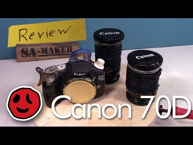 Making a Canon 70D