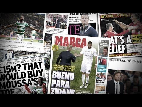 Zidane, Benzema, CR7, Ibrahimovic et Mourinho   Revue de presse