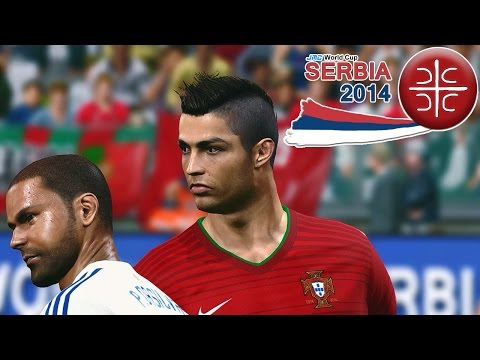 Portugal vs. Paraguay | jmc World Cup Serbia 2014 | Pro Evolution Soccer 2014 (PES 2014)