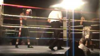 Yousif Saleh boxing fight