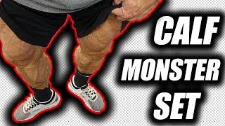 Calf Workout Quad set get a monster pump 6 rounds