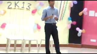 Live perfomance in IITKGP by Nitesh Kalihari Ye to sach hai ki bhagwan hai