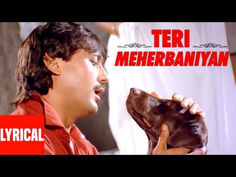Teri Meherbaniyan Title Track Lyrical Video | Jackie Shroff, Poonam Dhillon
