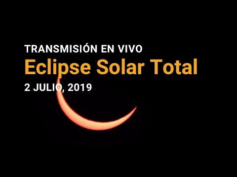 Mirá en vivo el eclipse total de sol que revoluciona a la Argentina