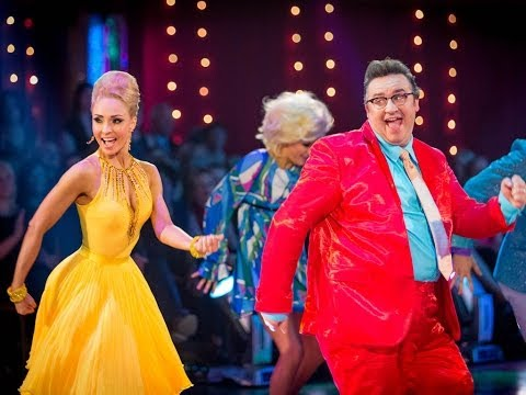 Mark Benton & Iveta dance the Jive to 'You Can't Stop The Beat'  Strictly Come Dancing  BBC One