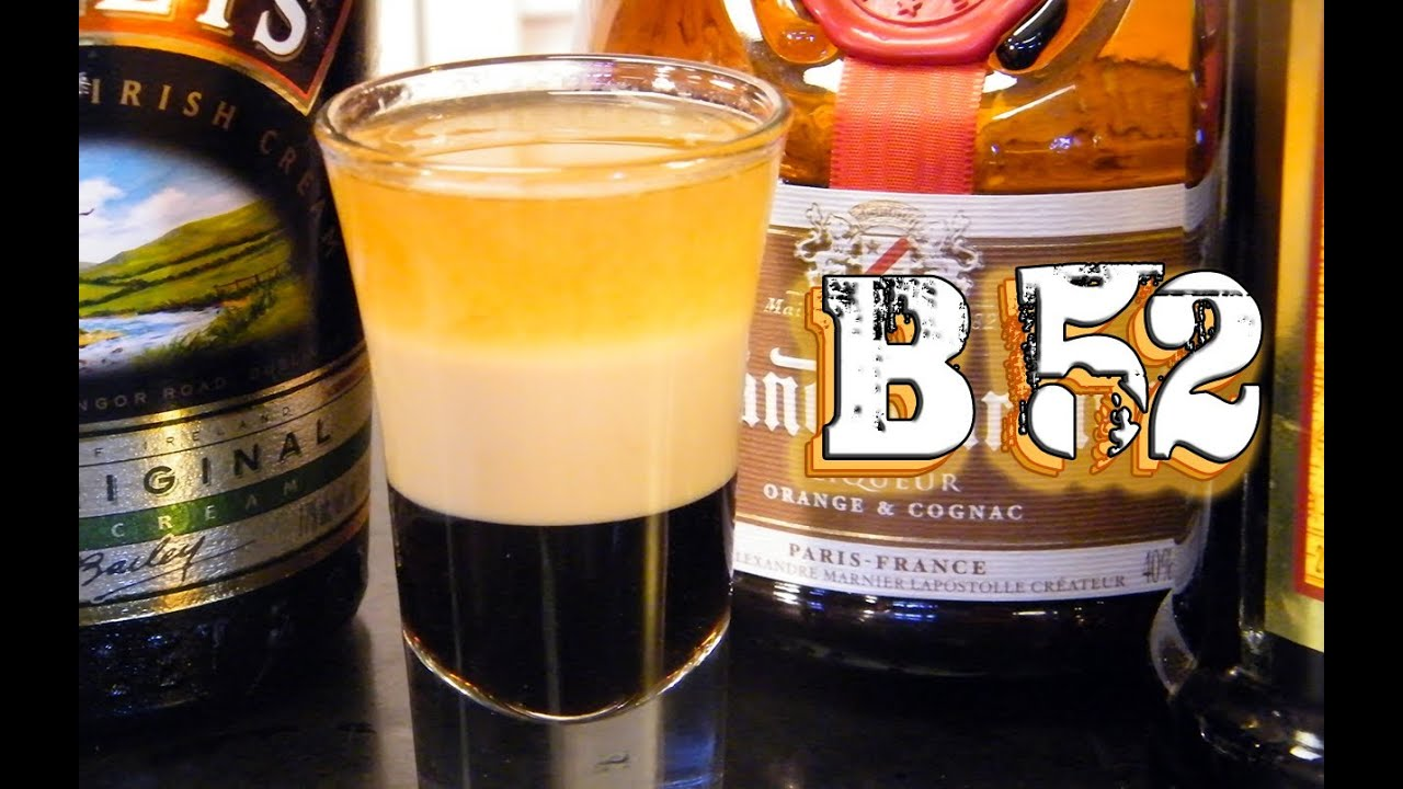 B 52 shot recipe images galleries for Tea and liquor recipes