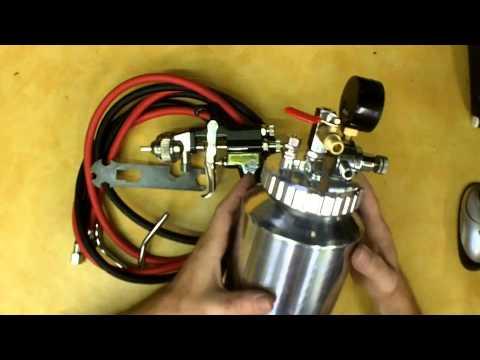 Harbor Freight 64 oz. Professional Air Spray Gun Kit Review Item 93312
