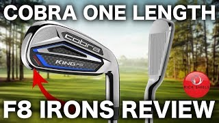 NEW COBRA ONE LENGTH F8 IRONS REVIEW