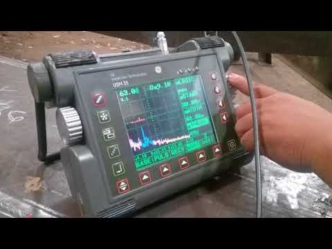 Ultrasonic testing weld quality