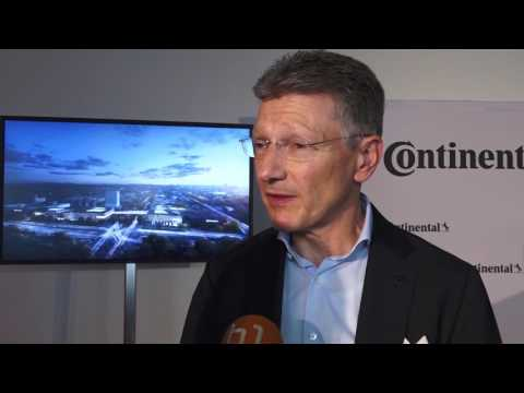 Der Siegerentwurf des Neubaus der Continental AG wurde vorgestellt