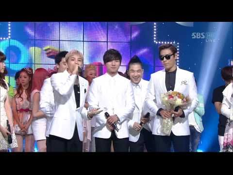 BIGBANG_0417_SBS Inkigayo_LOVE SONG_1st Award