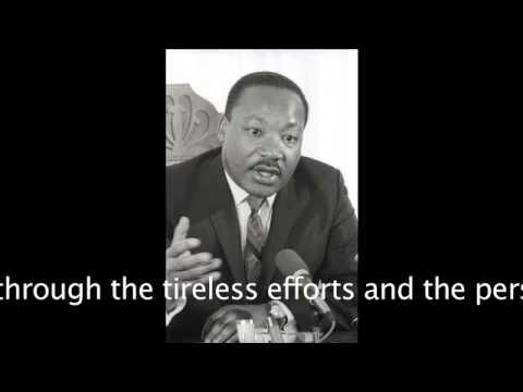 Martin Luther King's 1961 Chapman University speech (55 min.) - 2013-12-10