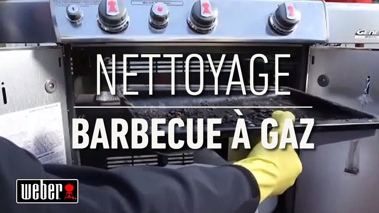 Barbecue weber comment bien nettoyer son barbecue gaz - Nettoyer grille barbecue rouillee ...