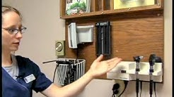 Clinical Med. Asst. Duties: Starting a Shift - Medical Assistant Skills Video #3