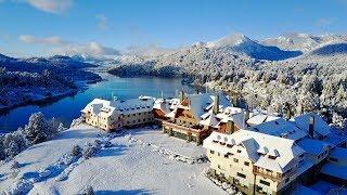 Sorprendente nevada en Bariloche en pleno verano