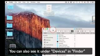 How to Eject a flash drive or External drive from a Mac