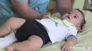 ¿Cómo evitar los aplanamientos en la cabeza de nuestro bebé?