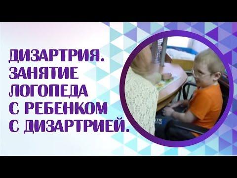 Дизартрия. Занятие логопеда с ребенком с дизартрией. ФФНР.