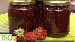 Confiture de fraises - 750g