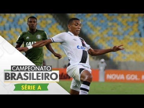 Melhores momentos - Vasco 1 x 1 Coritiba - Campeonato Brasileiro (21/10/2017)