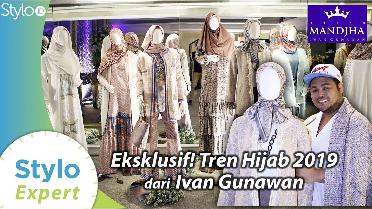 Tren Hijab Lebaran 12 Koleksi Ivan Gunawan Mandjha Hijab  Model Baju  Muslim & Kerudung Terbaru
